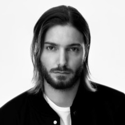 picture Alesso Swedish DJ black and white